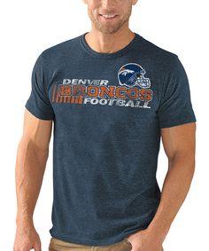 Look what I found on #zulily! Denver Broncos Championship Tri-Blend Tee - Men #zulilyfinds