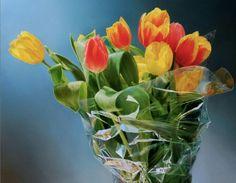 Pak tulpen in plastic II
