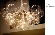 Pelle Designs - glass globes bubble lighting fixture