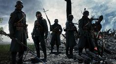 Soldiers Rifles Battlefield 1 Game Wallpaper