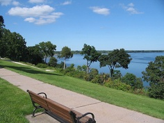 Geneva NY. I have walked many times on this path. Its beautiful. CJ works not to far from the water front.