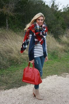 Zara Blanket Scarf via TexasFashionSpot.com