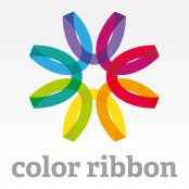 from a collection of ribbon logos you can buy  logo