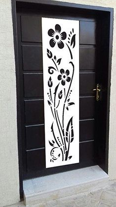 You will get CNC vector file for this design Grill Gate Design, Steel Gate Design, House Gate Design, Door Gate Design, Pooja Room Door Design, Door Design Interior, Wooden Front Door Design, Wooden Doors, Window Glass Design