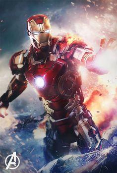 The Avengers-Iron Man mark 7 Marvel Avengers, Iron Man Avengers, Ms Marvel, Hero Marvel, Marvel Dc Comics, Captain Marvel, Female Avengers, Thor Superhero, Iron Men