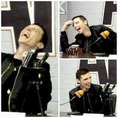 I don't think I've seen Andy REALLY laugh before. this is so cute cmon guys
