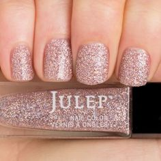 Julep - Nell (It Girl) blushing holographic full-coverage glitter