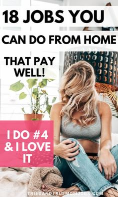 18 of the Best Home-Based Jobs that Pay Well Work From Home Careers, Home Based Jobs, Legitimate Work From Home, Work From Home Opportunities, Ways To Earn Money, Earn Money From Home, Earn Money Online, Online Jobs, Way To Make Money