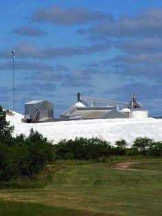 Saskatchewan Minerals / Sodium Sulphate Mine   Saskatchewan, Canada