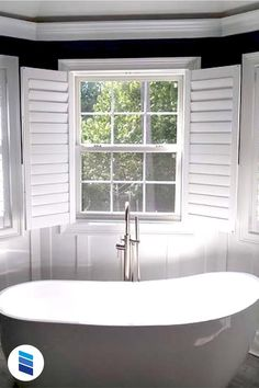 We'll show you the best (and the worst) blinds or shades for sink and tub windows! Woven Wood Shades, Bamboo Shades, Solar Shades, Bathroom Window Treatments, Bathroom Windows, Mini Blinds, Blinds For Windows, Window Over Sink, Best Blinds