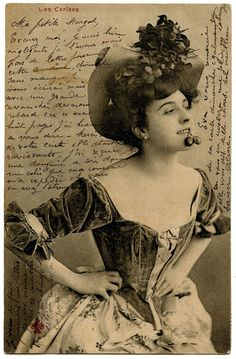 Carte Postale – Sassy French Woman
