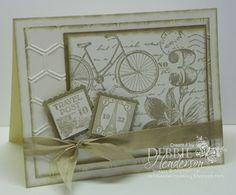 Stampin' Up! Postage Due by Debbie Henderson, Debbie's Designs.