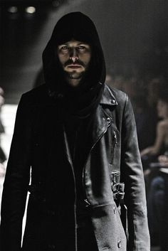 dark witch male pagan wave 21st century gothic coat mens clothing hood witchy wearing