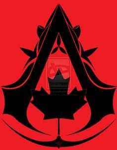 Canadian Assassin Symbol by MehranPersia.deviantart.com on @deviantART