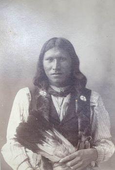 1898 Rinehart Photograph Brave Panther (Arapaho)