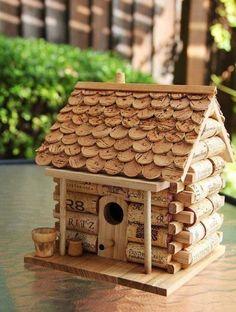 Creatief met kurk, je voelt je thuis in dit huis.