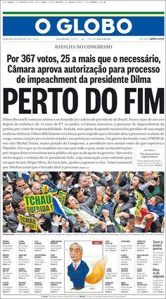#20160418 #LATINOAMERICA #LatinAmerica #LatinoaméricaPORTADASdePRENSAdeHOY20160418 Lunes 18 ABR 2016 http://en.kiosko.net/iba/2016-04-18/ + #BRASIL #Brazil #OGLOBOjornalBRASIL20160418 http://en.kiosko.net/br/2016-04-18/np/br_oglobo.html