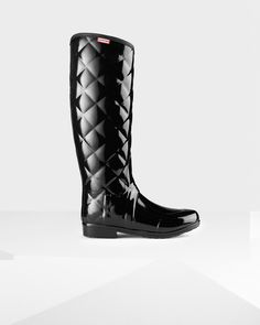 Lastest Buy Hunter Womens Sandhurst Savoy Wellington Boots Black
