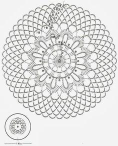 Crochet Art: Crochet Doilies Free Patterns - Beautiful Small Doilies