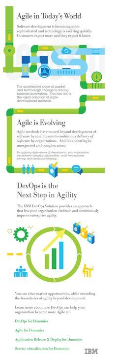 IBM DevOps Infographic on Behance