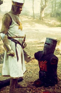 Monty Python and the Holy Grail - just a flesh wound