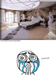 Supernatural bedroom