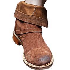 Vogstyle Damen Schlupfstiefel Halbschaft Biker Boots Gradient Cowboystiefel - http://on-line-kaufen.de/vogstyle/vogstyle-damen-schlupfstiefel-halbschaft-biker