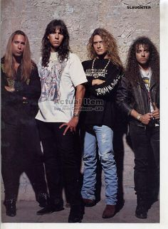 Mini Poster Pin Up Page Trixter Mark Slaughter Blas Elias LK9