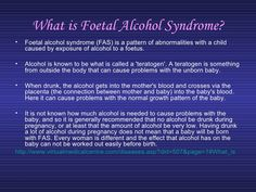 Foetal Alcohol Syndrome