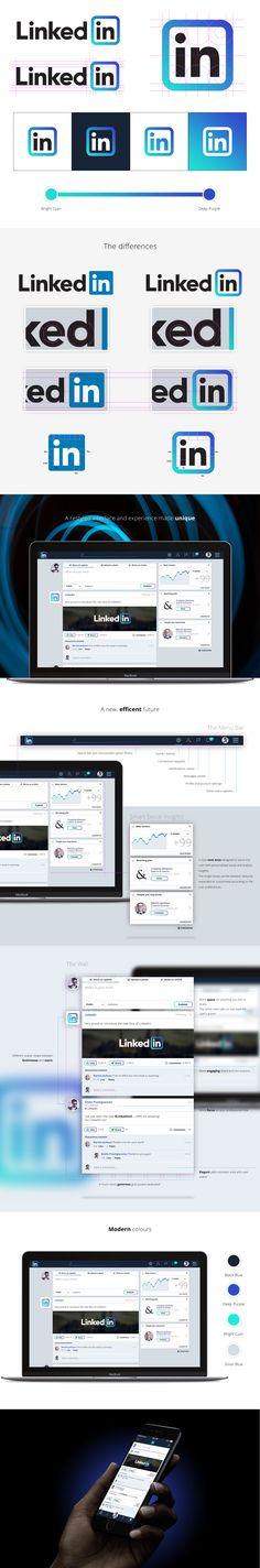The future of Linkedin on Behance