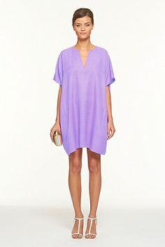 diane von furstenberg dresses | Diane Von Furstenberg Squaretan Dress in Purple (iris) - Lyst