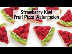 Strawberry Kiwi Fruit Pizza Watermelon - Hungry Happenings