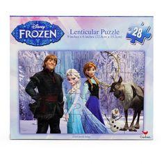 Casse-tête puzzle Frozen, 28 pièces, 3+ ans. 5.99$  Disponible en boutique ou sur notre catalogue en ligne. Livraison rapide au Québec.  Achetez-le info@laboiteasurprisesdenicolas.ca
