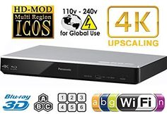 The DMP-BDT270 Smart Network 4K Upscaling Wi-Fi and 3D Blu-ray Disc Player from #Panasonic allows you to watch movies at near 4K resolution and can stream multim...