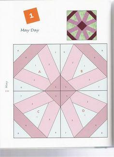365 Foundation Quilt Blocks - christine pages - Álbuns da web do Picasa