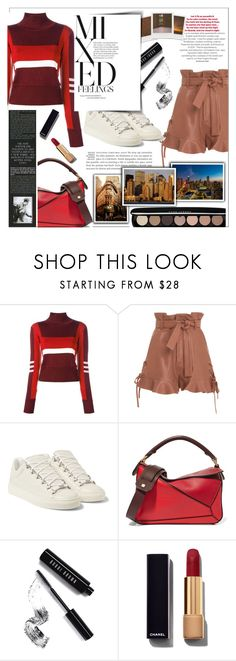 """Mixed Feelings"" by chocohearts08 ❤ liked on Polyvore featuring Emilio Pucci, Marissa Webb, Balenciaga, Loewe, Bobbi Brown Cosmetics, Impossible Project, Chanel, Urban Outfitters and Marc Jacobs"
