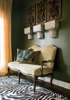 Оливковый цвет и его сочетания в интерьере :: Фото красивых интерьеров