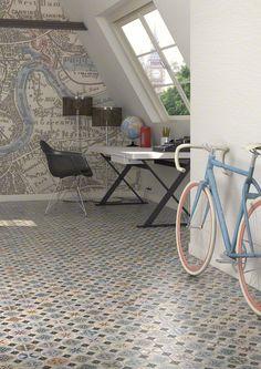 Multicolour Vintage Tiles