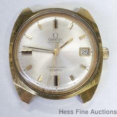 Genuine Vintage Mens Omega Automatic Seamaster Cosmic Date Watch To Fix #Omega #LuxurySportStyles