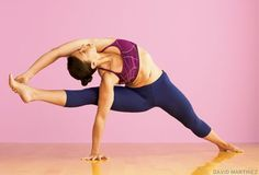 How to work your way into visvamitrasana, flying warrior pose. It's an arm balance, hip opener, shoulder opener, hamstring stretch, and twist all in one!