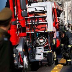 Un muerto deja incendio en restaurante de Santiago centro - Terra Chile