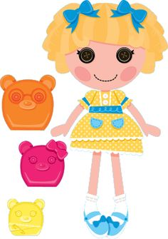 Lalaloopsy w MiniMini+ - sekcja z grami i zabawami dla najmłodszych Halloween Circus, Lalaloopsy Party, Bear Party, Princess Peach, Disneyland, Snoopy, Cute, Lima, Fictional Characters