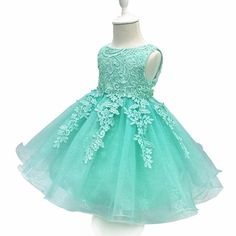 LZH Baby Girls Birthday Christening Dress Baptism Wedding Party Flower Dress with Bowknot for Newborn Infant Lace Party Dresses, Girls Party Dress, Birthday Dresses, Flower Dresses, Baby Dress, Girls Dresses, Dress Lace, Dress Girl, Lavender Flower Girl Dress