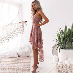 A collection of midi dresses to suit every style & occasion. Check our latest styles of Lace Midi Dress. Make a Lace Midi Dress formal or casual. Sexy Lace Dress, Lace Midi Dress, Sexy Dresses, Skater Dresses, Club Dresses, Pink Dress, Lace Party Dresses, Party Gowns, Evening Dresses
