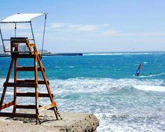 Surf like no one is watching. #windsurf #windsurfing #elmedano #tenerife