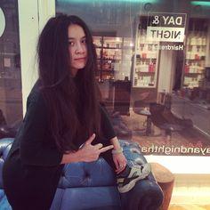 Hot! M'n liefste Belgische Yoko vers hoofd #asianswag #internationalfab
