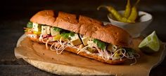 Newburn Bakehouse :: Tofu and Soya Nut Bahn-Mi
