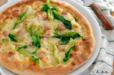 Pizza+con+scarola+e+salsiccia