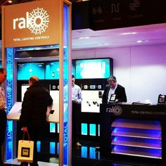 Rako Total Lighting Control Systems with their blobs and dimmers and systems for remotely controlling the lights, both switching and dimming!