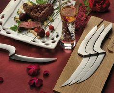 Deglon 4 Meeting Steak Knives